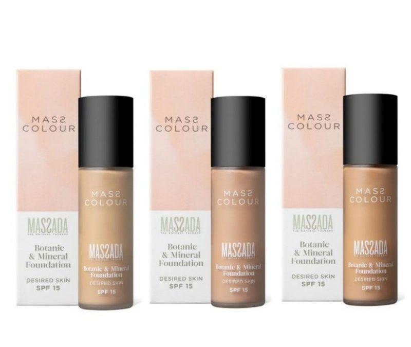 MASS COLOUR, el maquillaje de Massada
